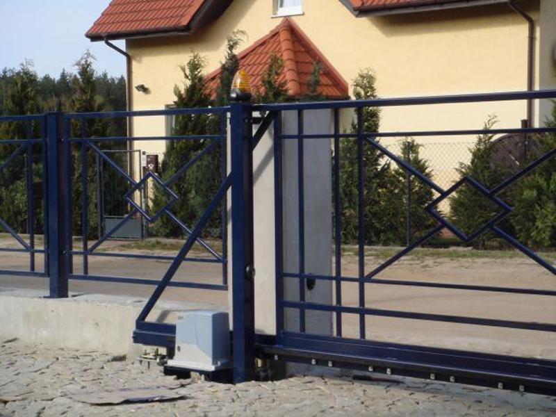Встановлення автоматики на ворота в рвному забор из лозы цена